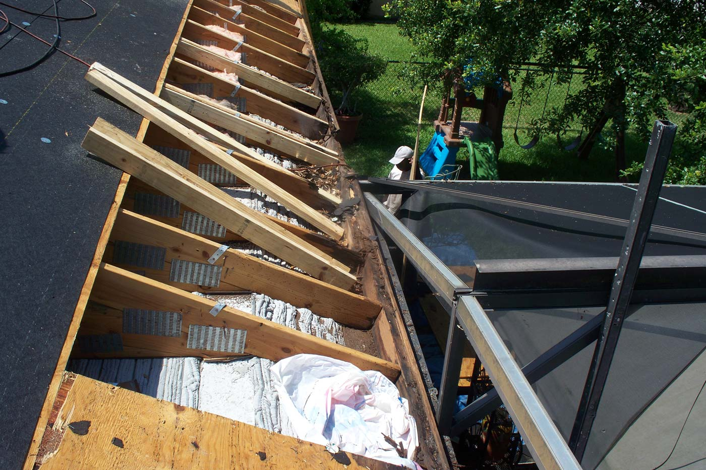 re-roofing