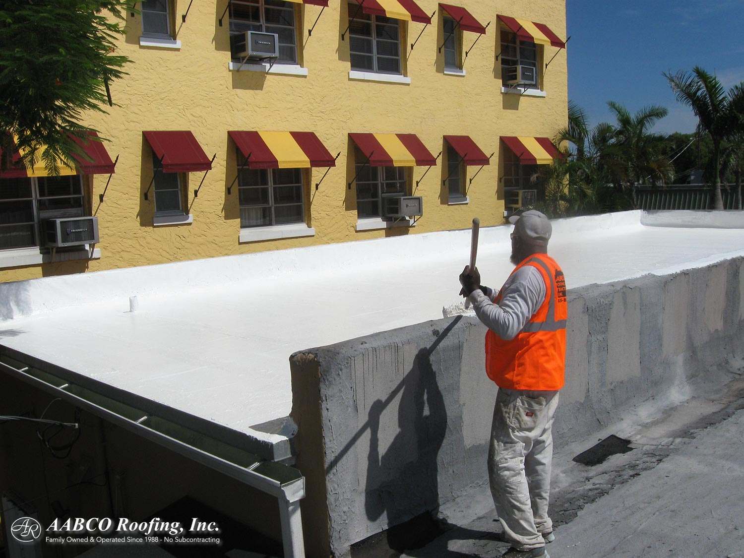 Roof maintenance contract