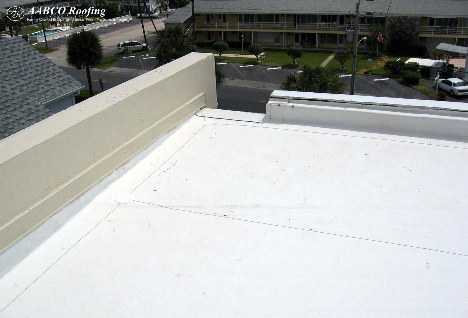 GACO silicone flat roof coating