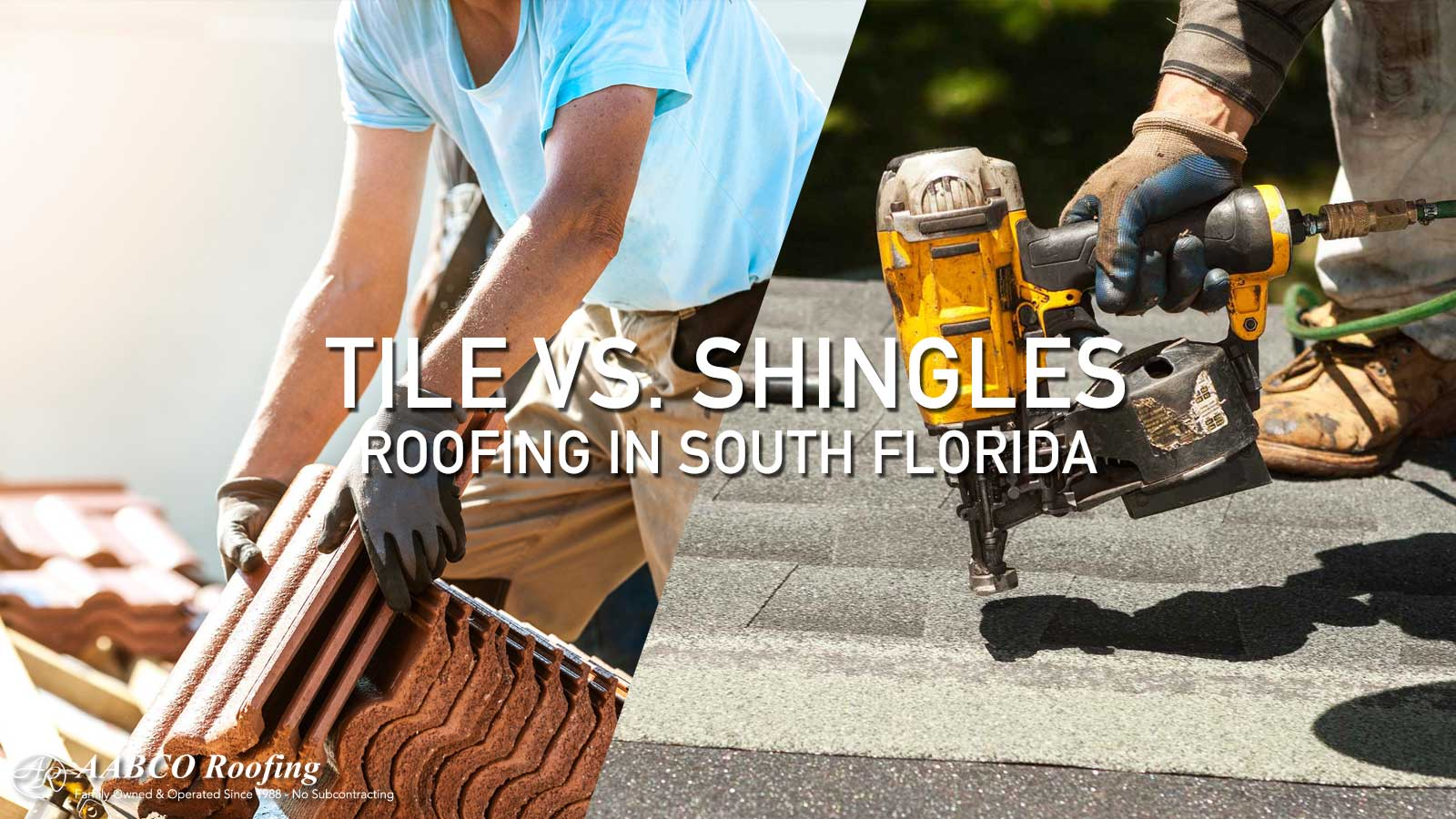 Tile vs. Shingles