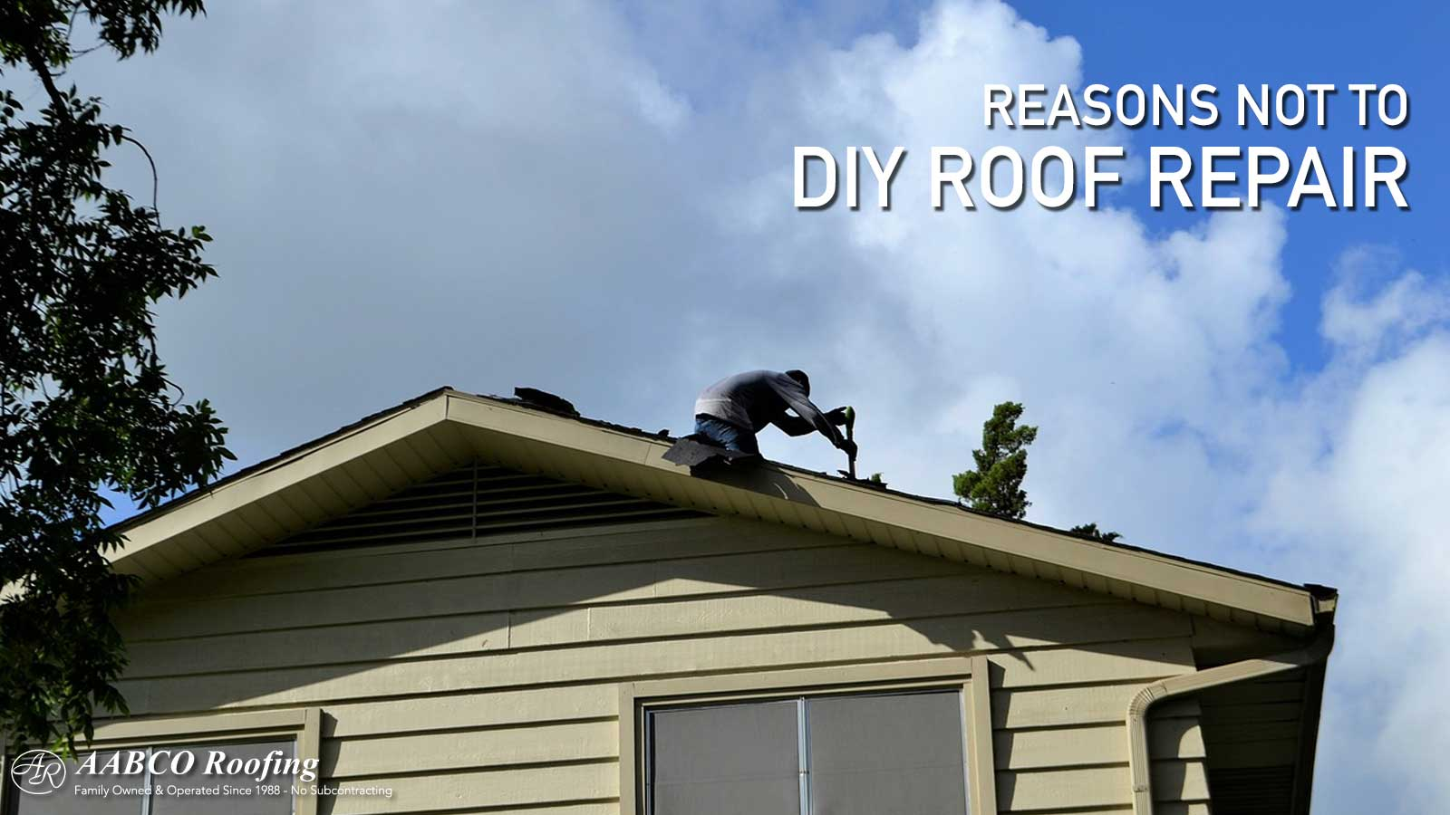 DIY Roof Repair