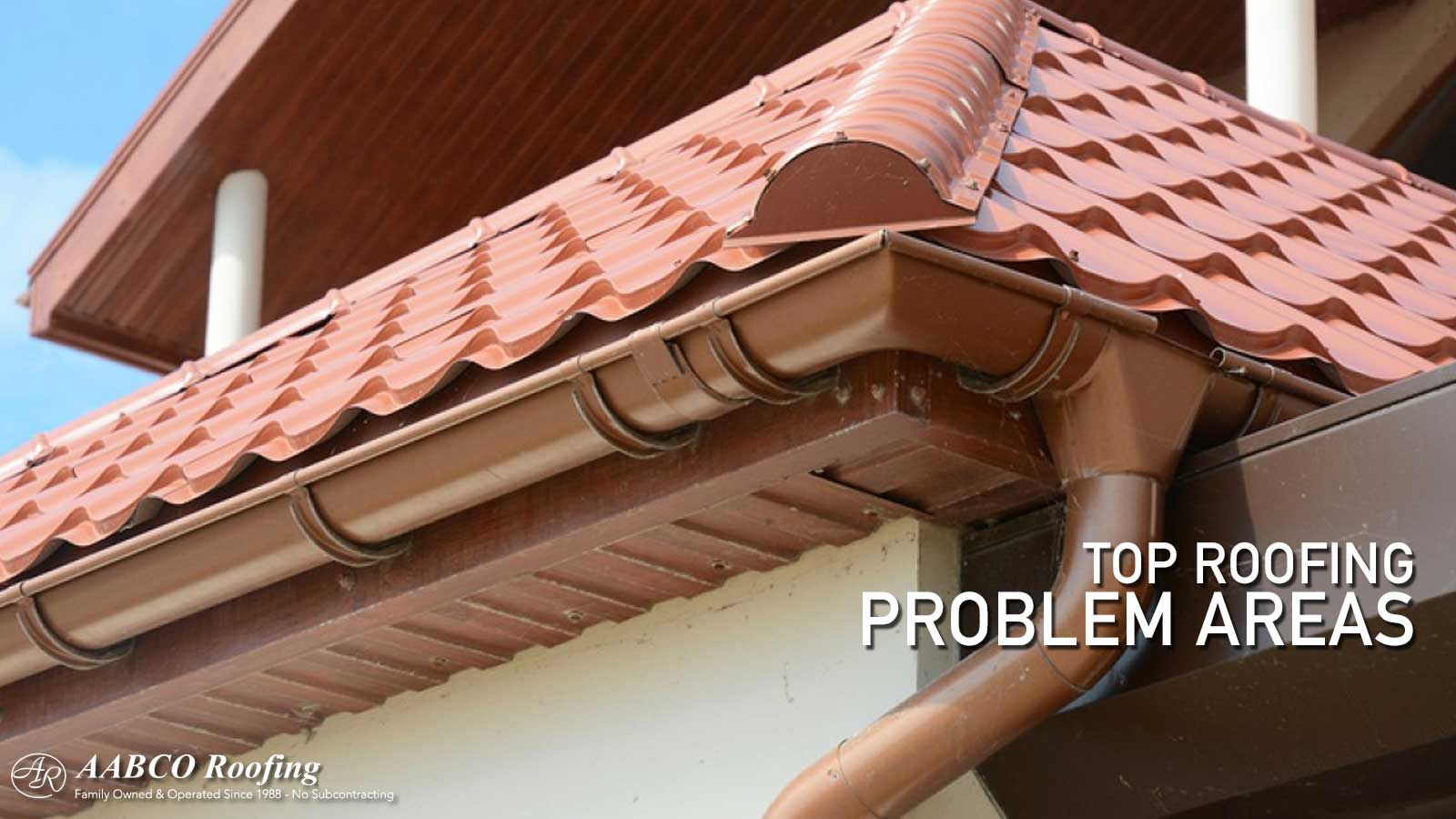 Roofing Problem Areas