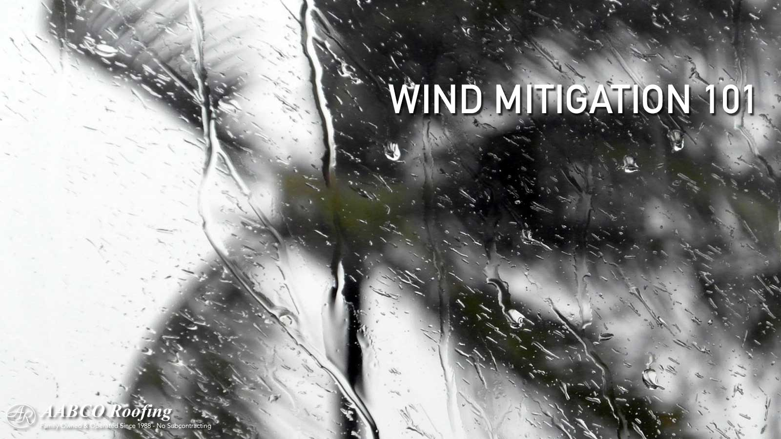 Wind Mitigation 101
