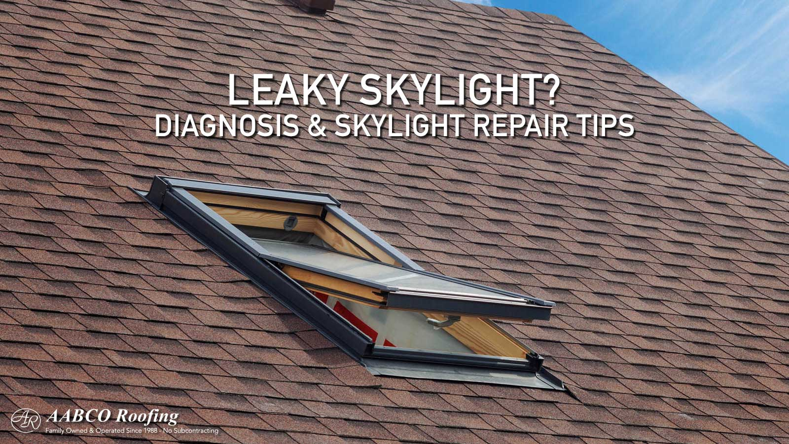 Do You Have A Leaky Skylight Here S