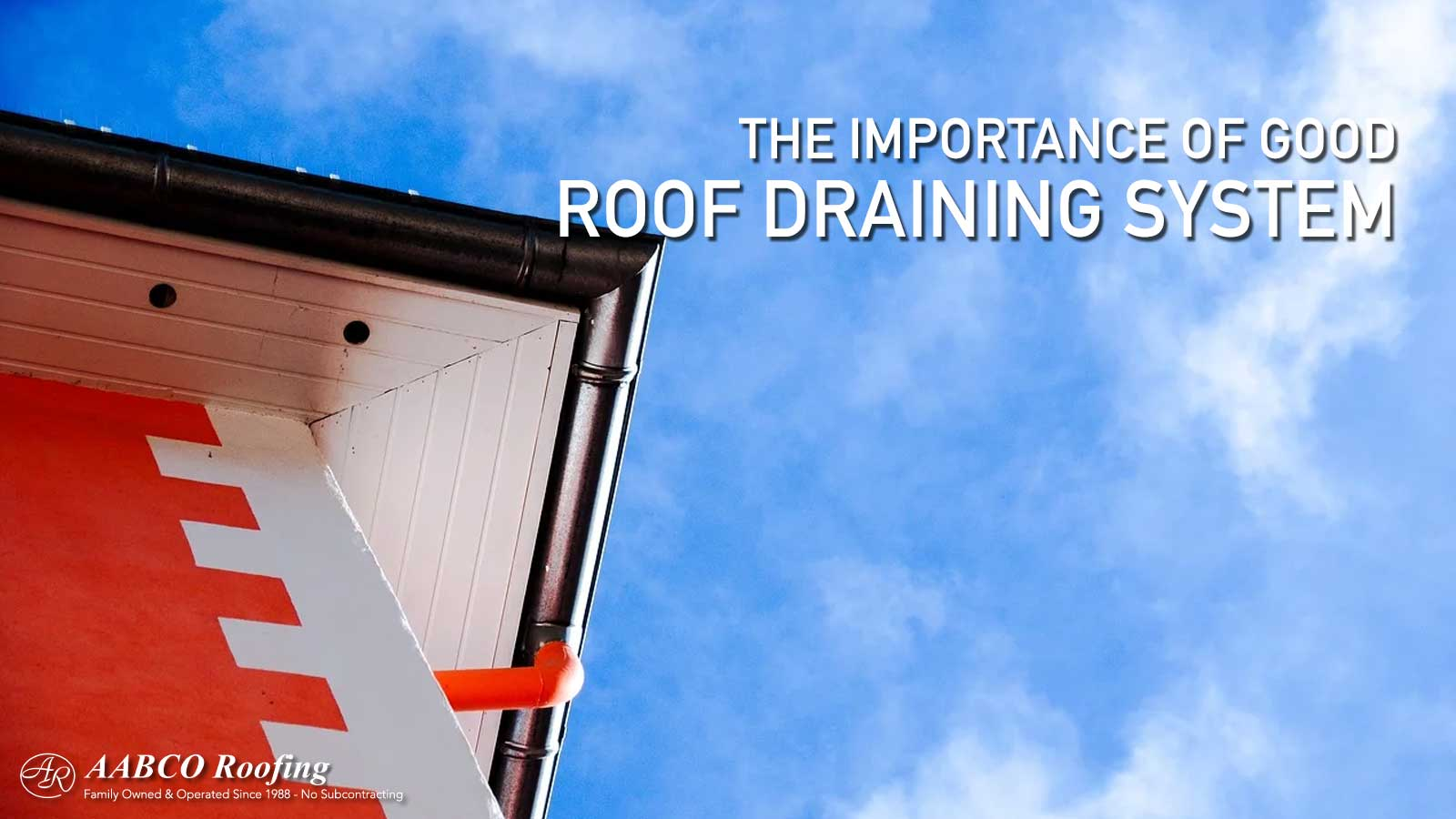 Roof Draining System