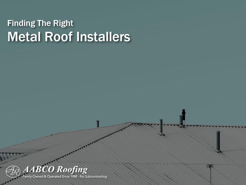 metal roof installers