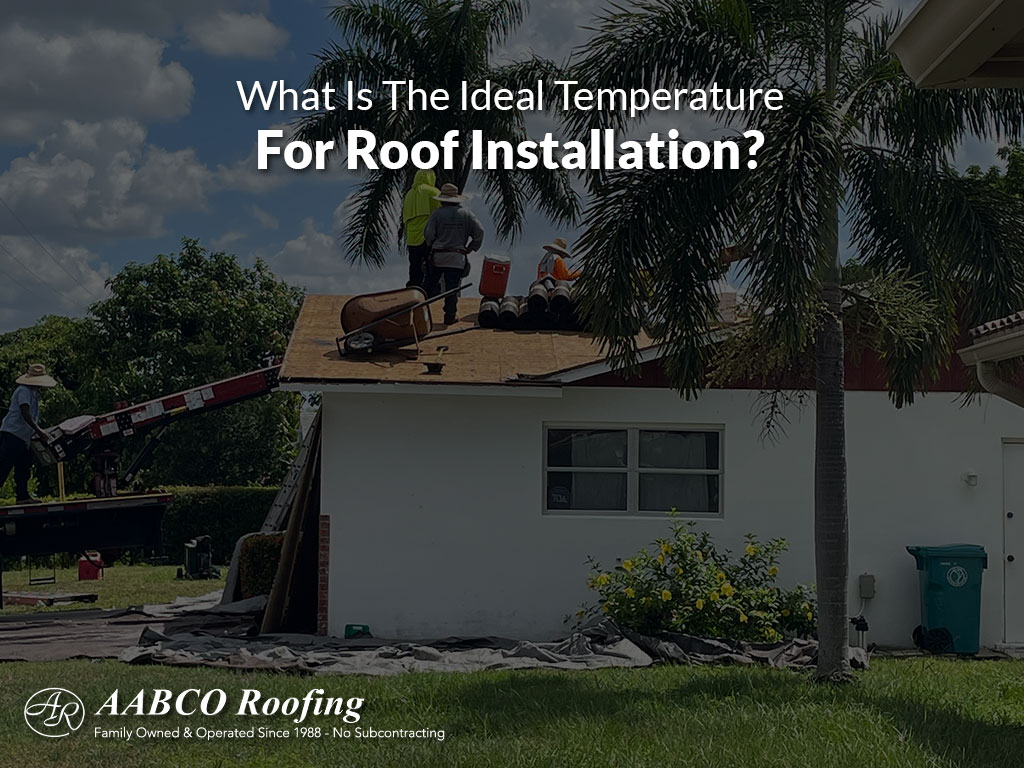 For Roof Installation?